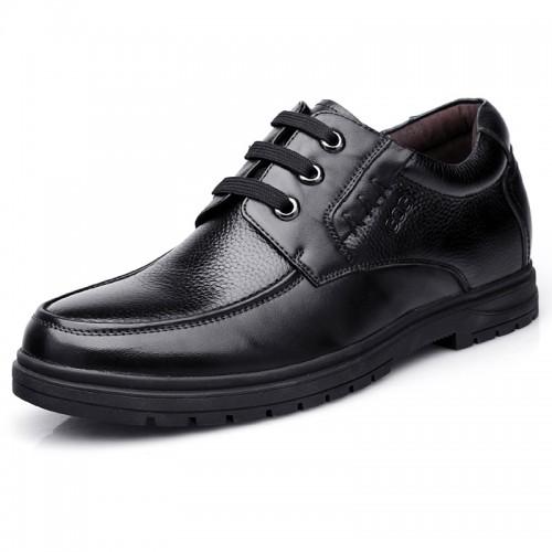 Elevator business casual dress shoes for men get taller 6.5cm