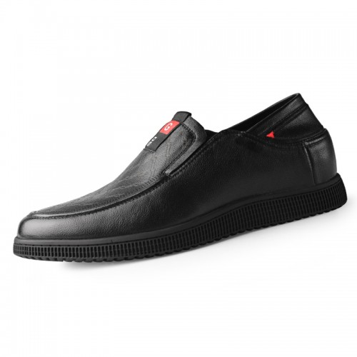 2020 Height Increasing Gommino Driving Shoes for Men Taller 2.4inch / 6cm Soft Slip On Elevator Tour Loafers