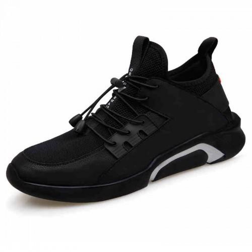Ultralight Height Increasing Sneakers for men Taller 6cm slip on elevator trainers