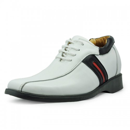 men elevator casual shoes grow taller 6.5cm / 2.56inches