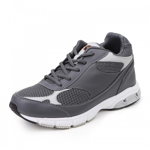 Summer elevator casual sprots shoes for men add tall 8cm / 3.15inches height increasing leisure shoes