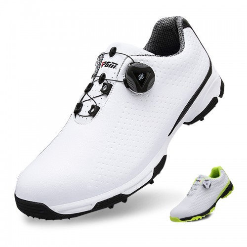 Hidden Lift Men Golf Shoes Breathable Performance Rotating Lace Up Sneakers Increase Height 2.4inch / 6cm