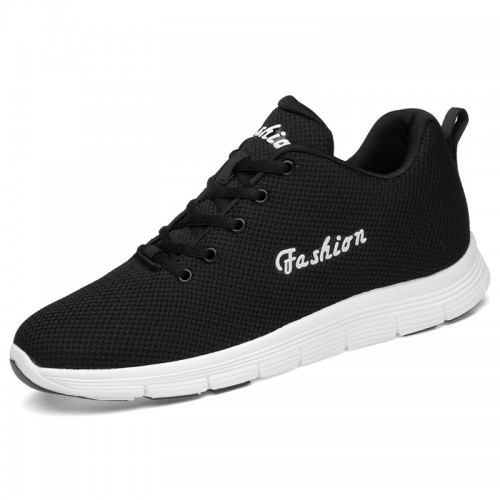 Fashion Elevator Tennis Shoes for men height 2.6inch / 6.5cm