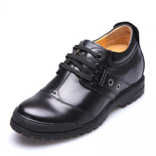 Height elevator business casual shoes 8cm / 3.15inches men grow taller shoes