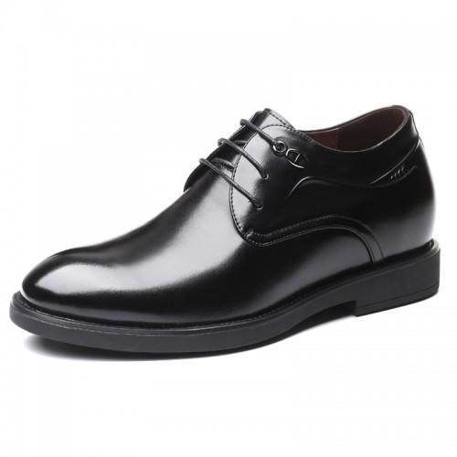 Social Elevator Business Formal Shoes Increase 2.8inch / 7cm Comfortable Men Taller Wedding shoes