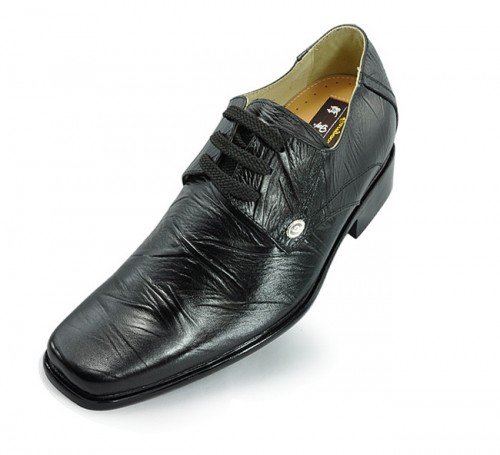 men elevator dress shoes grow taller 7cm / 2.75inches