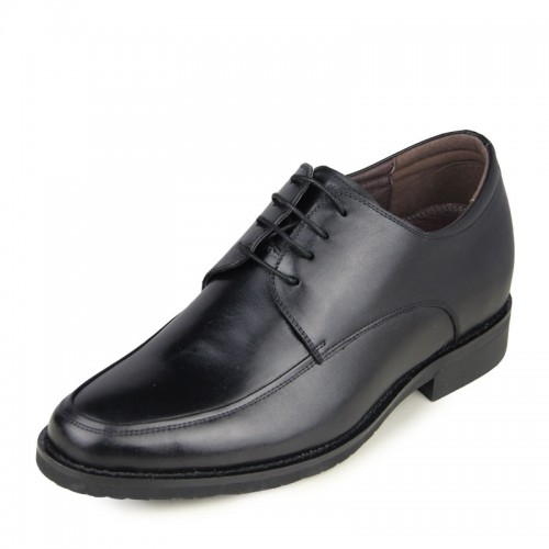 New low-cut formal shoes make men look taller 6.5cm / 2.56inches elevator dress shoes