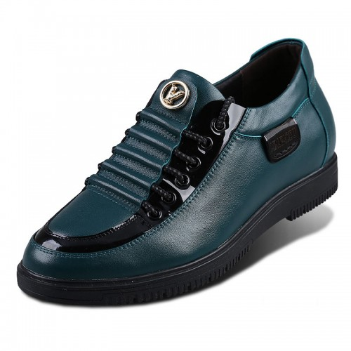 Rivet height increasing casual shoes extra taller 6.5cm / 2.56inches tide leisure shoes