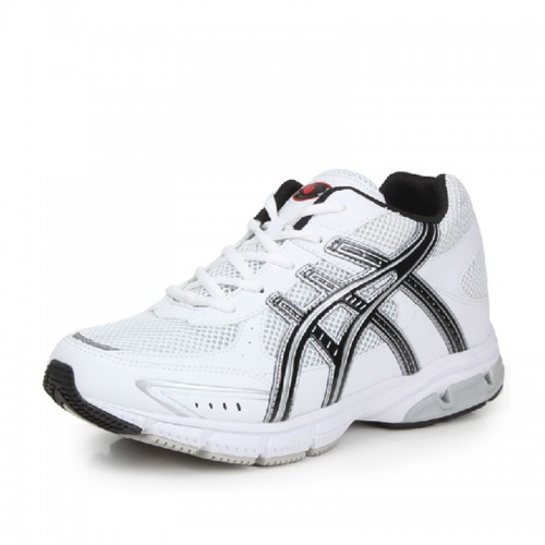 New white/black micro fiber mesh outdoor elevator hiking shoes height taller 7cm / 2.75inches breathable leisure shoes