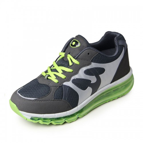 Shockproof Breathable Athletic shoes height 7.5cm / 2.95inches Acoustic Suspension elevator sneakers