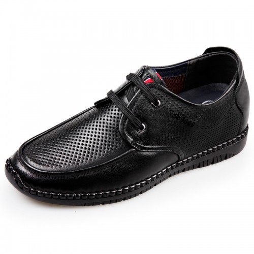 Men Elevator Driving Shoes add you taller 2.6 inch