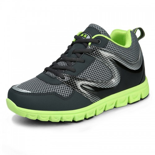 Breathable height increasing running shoes gain taller 7cm for men elevator sneakers