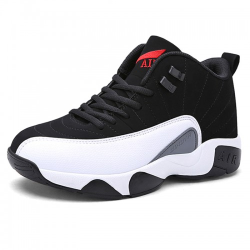 Height Increasing Basketball Shoes Taller 2.8inch / 7cm White Elevator Sports Shoes