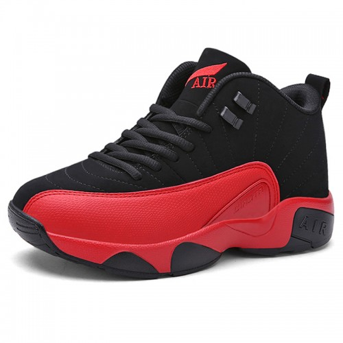 Height Increasing Basketball Shoes Altitude 2.8inch / 7cm Red Elevator Sports Shoes