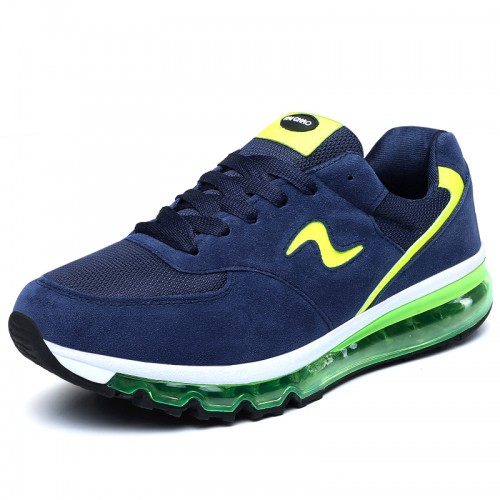 Breathable taller sneakers add height 6.5cm / 2.6inch walking shoes