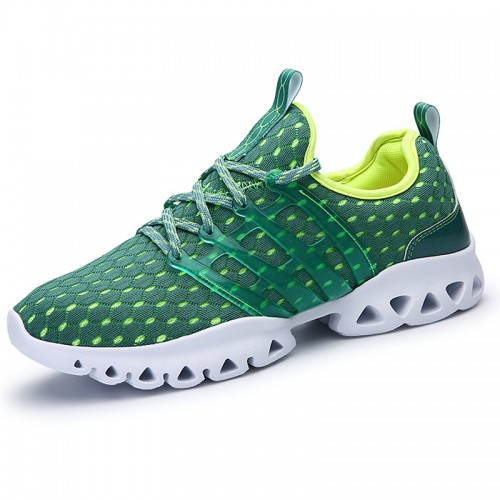 Lightweight Comfort Sneakers Increase Taller 2.8inch / 7cm Breathable Mesh Elevator Shoes