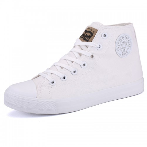 High Top Casual Sneaker Add Taller 3.5inch /  9cm Cap Toe height increasing Skate Shoes
