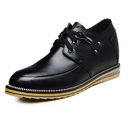 Elevator Punk Casual Shoes Men Height Increasing 8cm / 3.15inches
