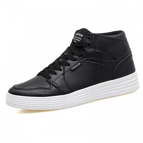 Black Height Increasing Sneaker for men
