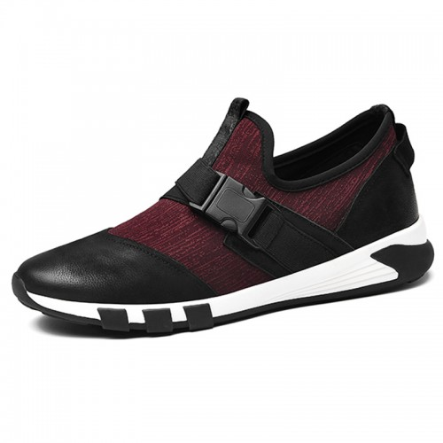 fashion taller sneakers for men Height Casual Sport Walking Shoes