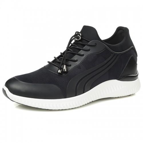 Fashion Men Elevator Sneakers Hidden High Heel Casual Sport Shoes