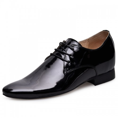 Black men increase height dress shoes get tall 6cm / 2.36inches