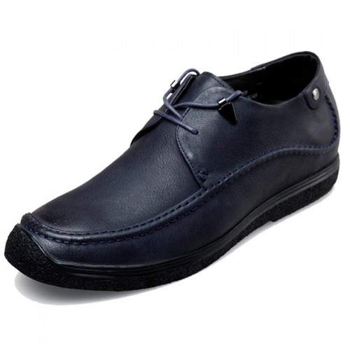 Crafted Elevator Driving Shoes for Men lace up taller shoes