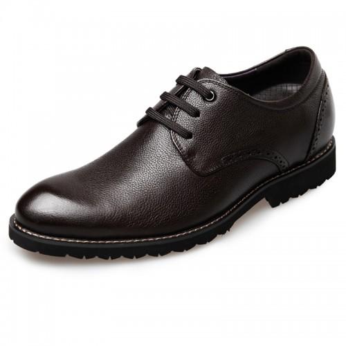 Soft Calfskin Casual Tall Men Shoes