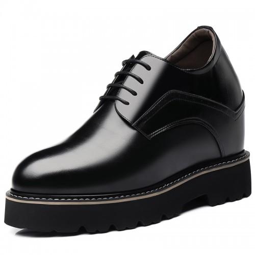 Super Hidden Taller Shoes for Men Height Elevator Business Dress Shoes Increase 5.5 inch / 14 cm