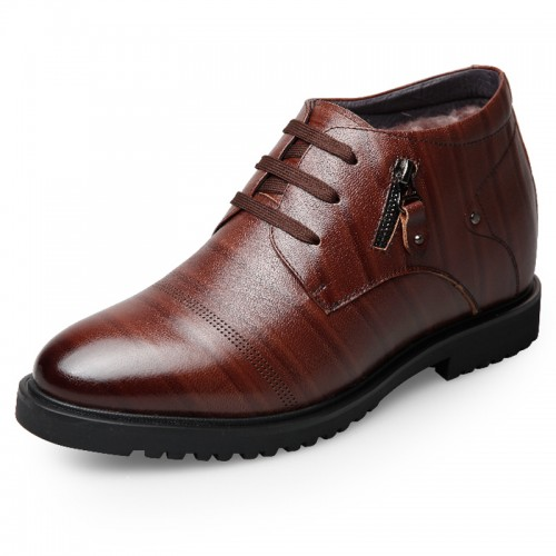 Winter Taller Dress Shoes for Men Add Height business shoes