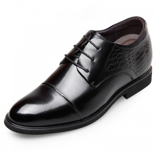 Classic Elevator Dress Shoes for Men Get Taller 2.6inch