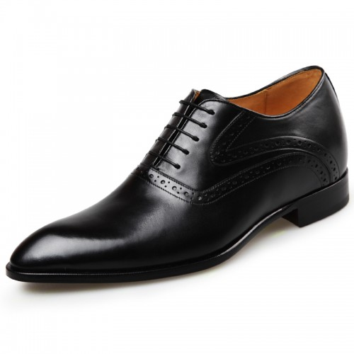 Perfect Elevator Wedding Shoes for Men luxury taller formal dress shoes