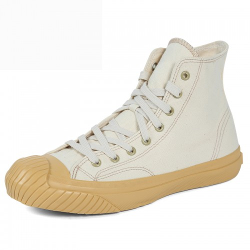 Classic Elevator High Top Plimsolls for Men Add Taller 2.2 inch / 5.5 cm Height Increasing Safety Toe Sneakers