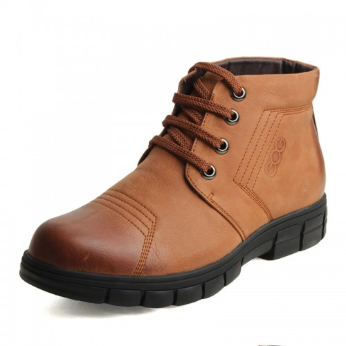 British pop men's height increasing boots invisible get tall 5.5cm / 2.2inches elevator winter leisure shoes