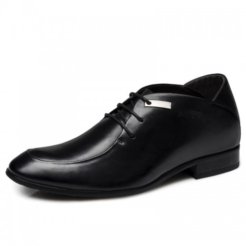 Fresh Men elevator dress shoe make you taller 6cm / 2.36inches business height increasing footwear