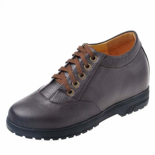 Korean handsome height increasing shoes that give you taller 4inch / 10cm elevator casual shoes