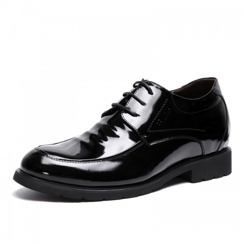 British fashion taller business shoes increase height 2.36inches / 6cm elevator dress shoes