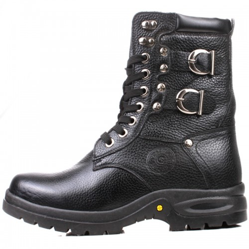 Winter taller boots for men increase height 8cm / 3.15inches motorcycle boots