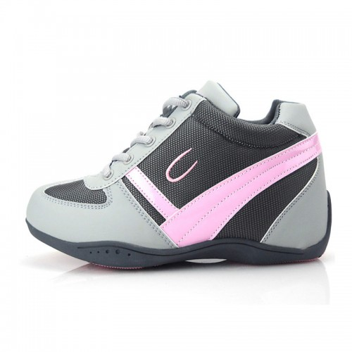 high increase elevator shoes for women magic stovepipe taller 7cm / 2.75inches Leisure sport shoes
