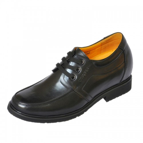 hidden height increasing business shoes add taller 2.75inches / 7cm lift dress shoes
