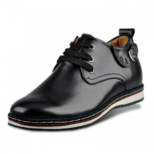 British classic black height causal shoes you tall 6cm / 2.36inches