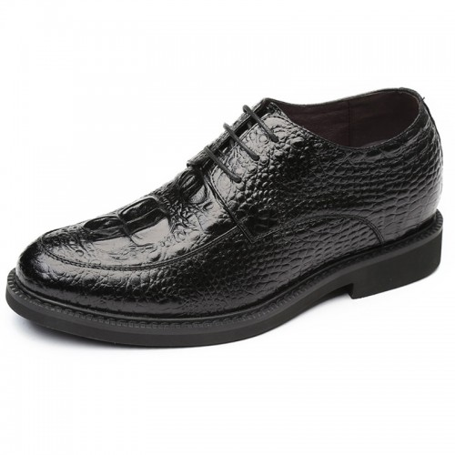 Perfect Elevator Wedding Shoes for men Taller 2.4inch