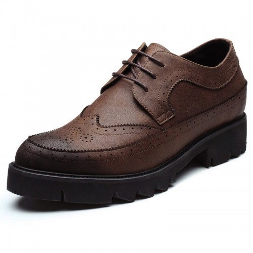 British Height  Brogue Shoes