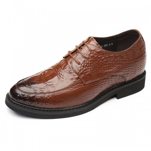 Perfect Elevator Wedding Shoes for Men Height 2.4inch / 6cm