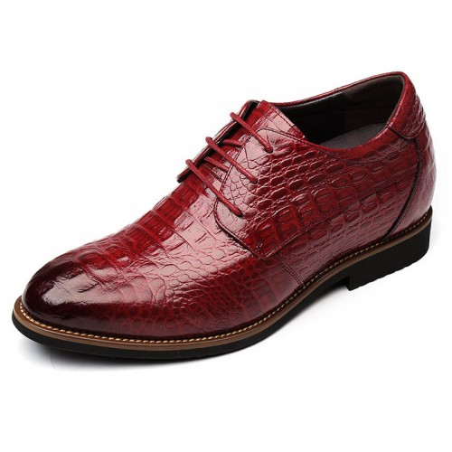 Alligator Taller Business Formal Shoes Height 3.2inch