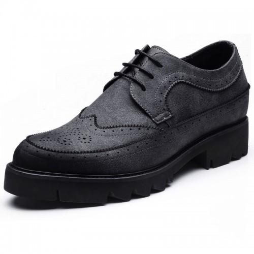 Classic Elevator Gentlman Business Shoes Add Altitude 3.2inch