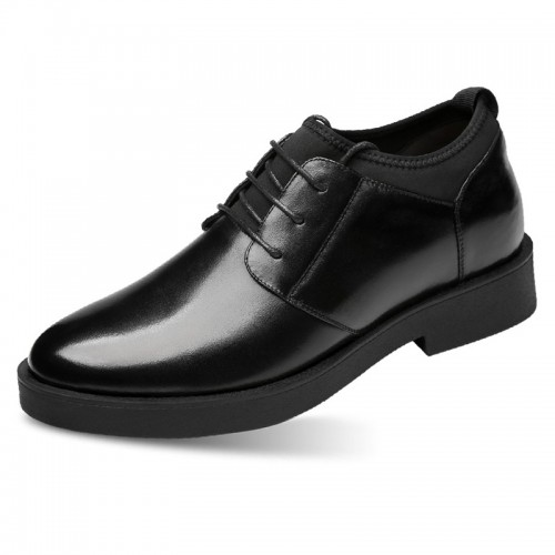 3inch Elevator Dress Loafers Comfortable Slip On Casual Business Shoes Increase Height 7.5cm