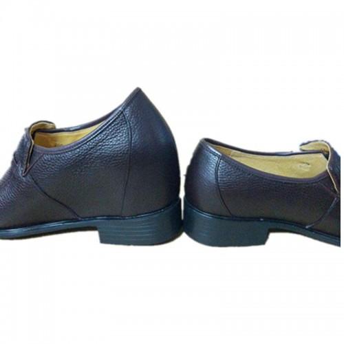 Men Leg Length Discrepancy Tuxedo Shoes Bespoke Genuine Leather Slip On Orthopedic Shoes