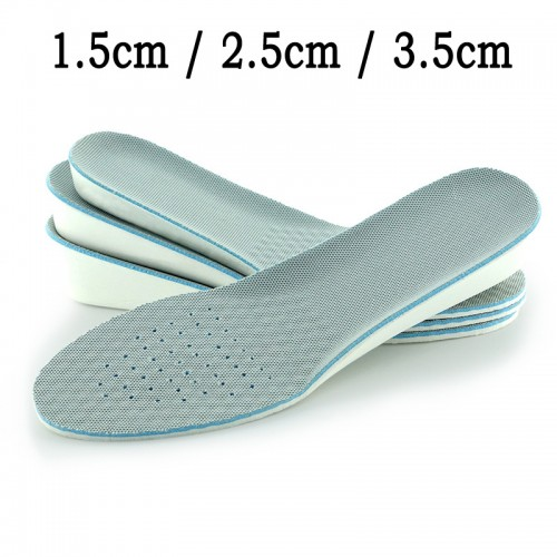 Invisible Height Increase Inserts Unisex Heel Lift Taller Shoes Pad Shock Absorption Orthopedic Insoles