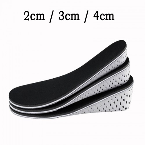 Memory Foam Height Increase Insole Full Length Heighten Insoles Heel Taller Cushion Heightening Insole Shoe Pad